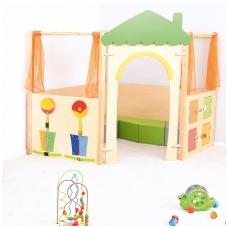 """Vaikiška žaidimų aikštelė """"Sensorinis namelis"""""""