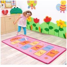 """Vaikiškas edukacinis kilimas """"Klasės"""" 016413"""