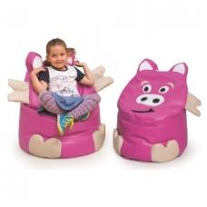 """Vaikiškas fotelis- sėdmaišis """"Paršelis"""" 4640462"""