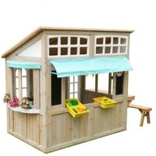 Vaikiškas medinis namelis- prekystalis NS 200
