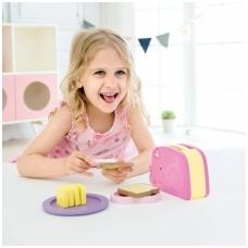 Vaikiškas medinis tosteris su priedais NS CW4115
