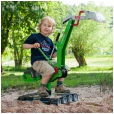 """Vaikiškas metalinis ekskavatorius """"Rolly Toys"""" NS 513208"""