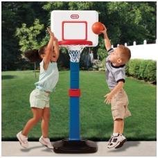 Vaikiškas, reguliujamo aukščio krepšinio stovas 620836