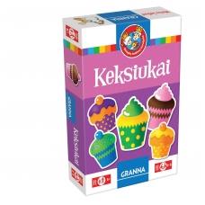 """Vaikiškas stalo žaidimas, lietuvių kalba """"Keksiukai"""" 5900221052305"""