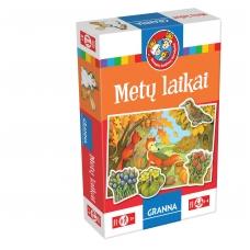 """Vaikiškas stalo žaidimas, lietuvių kalba """"Metų laikai""""  5900221052299"""