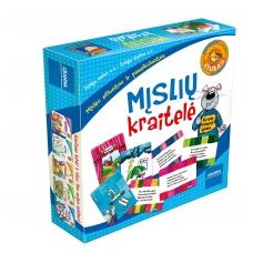 """Vaikiškas stalo žaidimas, lietuvių kalba """"Mįslių kraitelė"""" 5900221052558"""