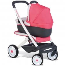 """Vaikiškas vežimėlis lėlėms 3 viename """"Smoby Maxi Cosi Quinny"""" NS 253198"""