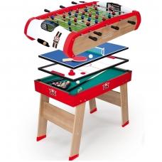 Vaikiškas žaidimų stalas 4 viename. NS 640001