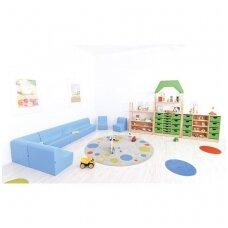 Vidutinė sofa